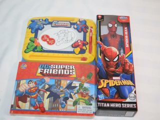 Spiderman Doll   Super Friends Activity Set