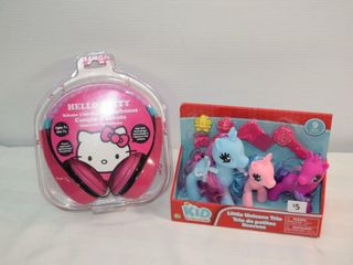 little Unicorn Trio   Hello Kitty Headphones
