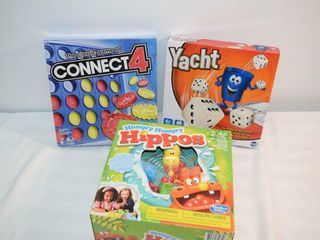 BGames   Hungry Hippos  Yacht   Connect 4