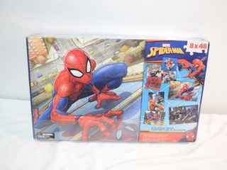 Spiderman 8 Puzzle Pack