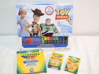 Asst Crafts  w Toy Story 4 Artistic Set