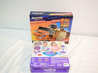 Kinetic Sand   Construction Sand Set