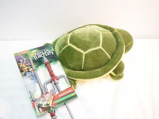 Plush Wearable Turtle   Ninja Turtle Sword
