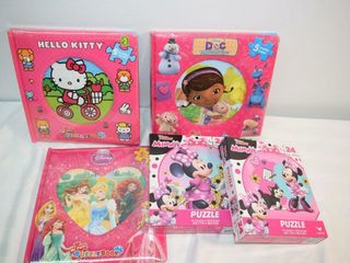 Assorted Girly Puzzles