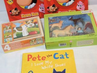 Melissa   Doug Puzzle  Books   Toy