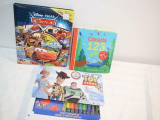 Books   Toy Story 4 Activity Set
