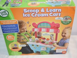 leap Frog Scoop   learn Ice Cream Cart