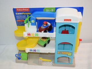 Fisher Price Helpful Neighbour s Garage
