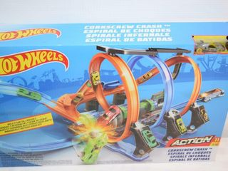 Hot Wheels Corkscrew Crash