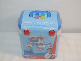 Toy Medical Supplies Suitcase