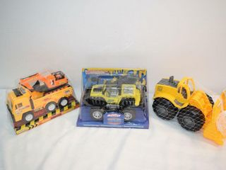 Assorted Plastic Trucks