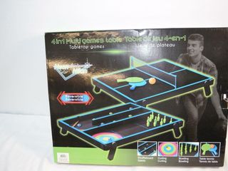 4 in 1 Multi Games Table
