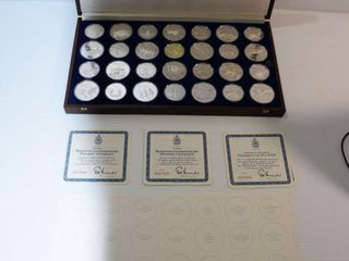 OlYMPIC COIN PROOF SET   CANADA