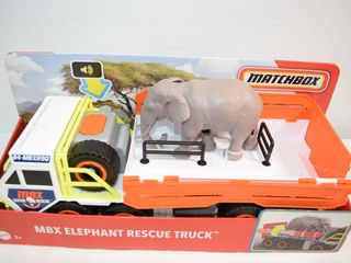 Matchbox MBX Elephant Rescue Truck