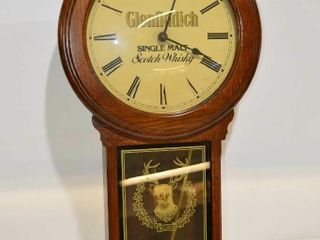 Glenfiddich Pendulum Wall Clock  29