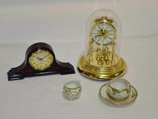 Box of Anniversary Clock  plastic dome