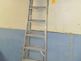 8ft Aluminum Combination Step ladder