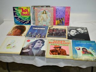 Grp  of Classic Vinyl Records