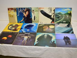 Grp  of Classic Rock Vinyl Records