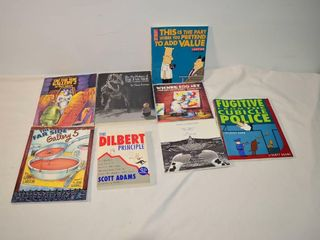 Far Side and Dilbert Books