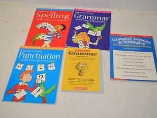 Grade 4 to 8 Grammar English Books