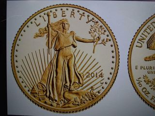 2014 American Gold Eagle  5 gold coin