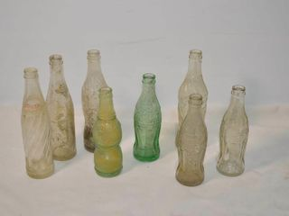 Box of Old Pop Bottles