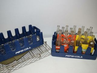 Pepsi Cola Cases and Bottles