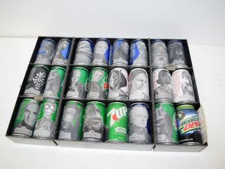 Metal Star Wars Pepsi Case and Cans