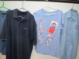 4 Shirts including Pepsi Shirt