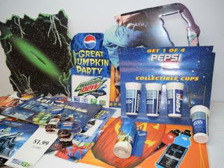 Box of Display Advertisements