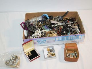 Box of Assorted Costume Jewelry