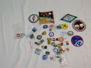Assorted Patches   Pins