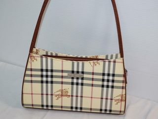 ladies Plaid Pattern Shoulder Bag
