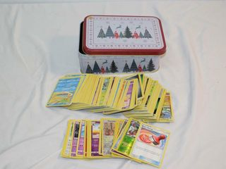 Tin of Pokemon Cards