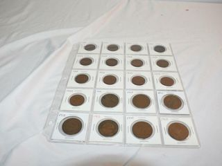 Old Australian Half Pennies and Pennies