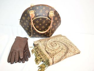 Handbag  Scarf   Gloves