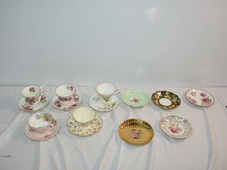 Tea Cups   Saucers Sets plus extra saucers