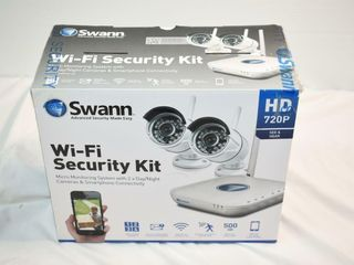 Swann Wi Fi Security System  2 Cameras
