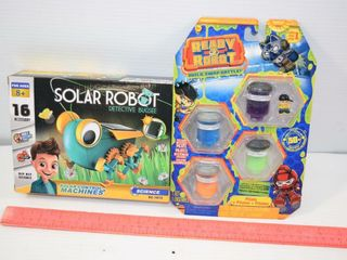 Solar Robots and Ready 2 Robot