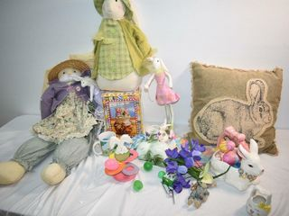large lot of Easter Decor