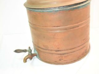 Copper Potato Pot
