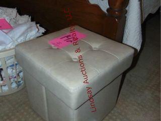 Stool w  storage  15x15x15
