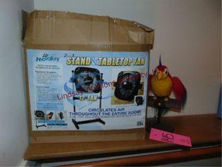 Fake Parrot   Oreck Xl vacuum cleaner w
