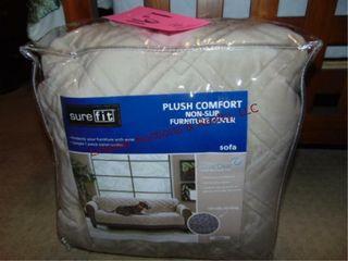 NIP Sure fit sofa cover fits most 74 96
