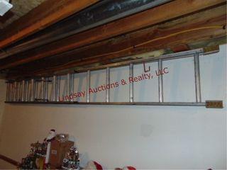 Alum ext ladder  may need repair