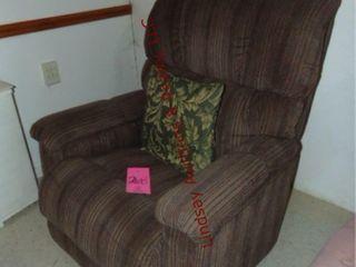 Gray Brown recliner