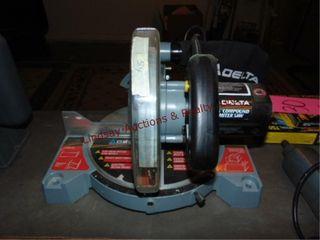 Delta 8 1 4  compound miter saw