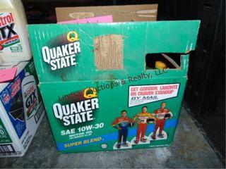 11 bottles of Quaker State Sae 10w 30 oil