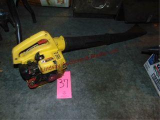 JD  2BV  gas pwrd leaf blower